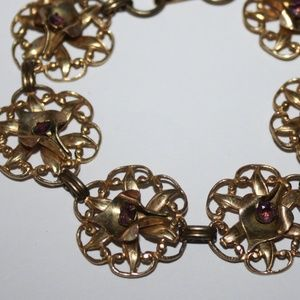 """Jewelry - Vintage 1/20 12k CalleLilly Bracelet 7"""""""